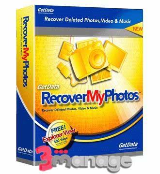 بازگردانی حرفه ای تصاویر پاک شده با Recover My Photos Pro