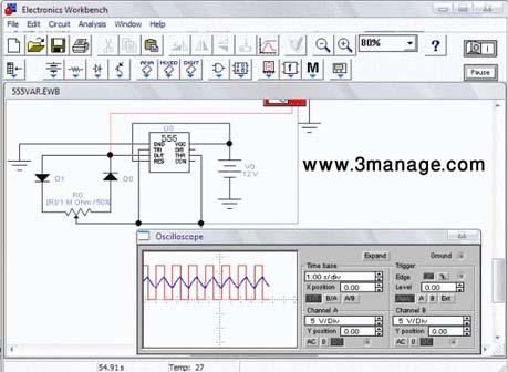 دانلود Electronics WorkBench 5.12 نرم افزار قوی برای شبیه سازی الکترونیک